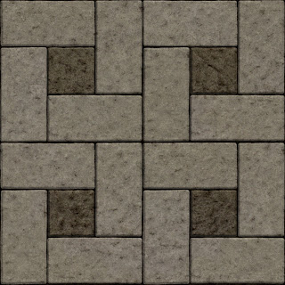 Seamless floor concrete stone block tiles texture 1024px