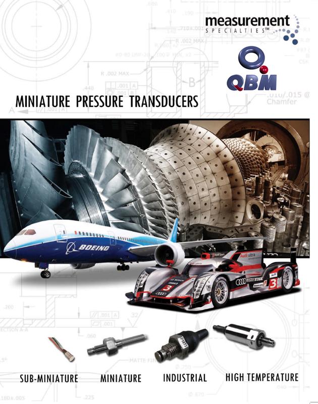 Nuevo Catálogo de Sensores y Transductores de Presión Miniatura