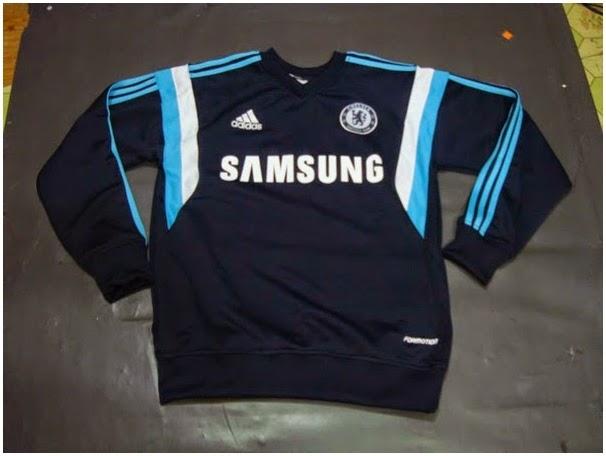 Gambar Jaket Sweater Traning Resmi Chelsea 14-15