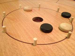 more playing of Crokinole
