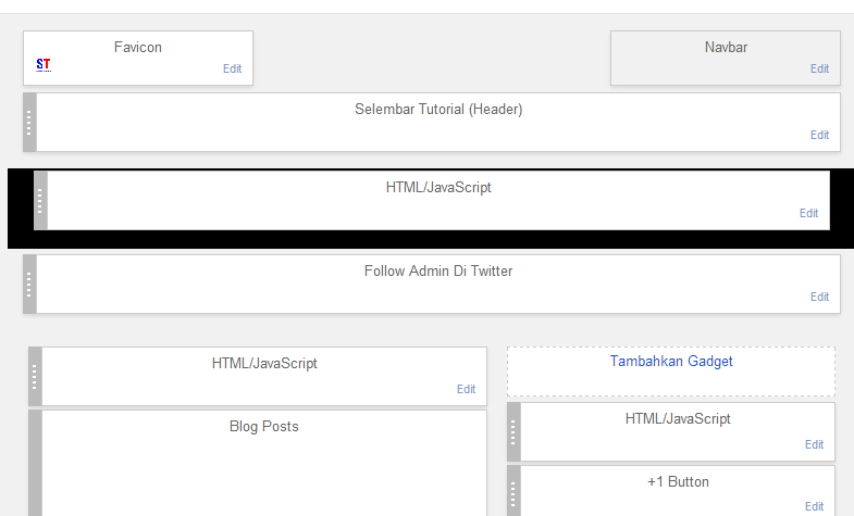 Cara Membuat Contack Form Pada Blogger