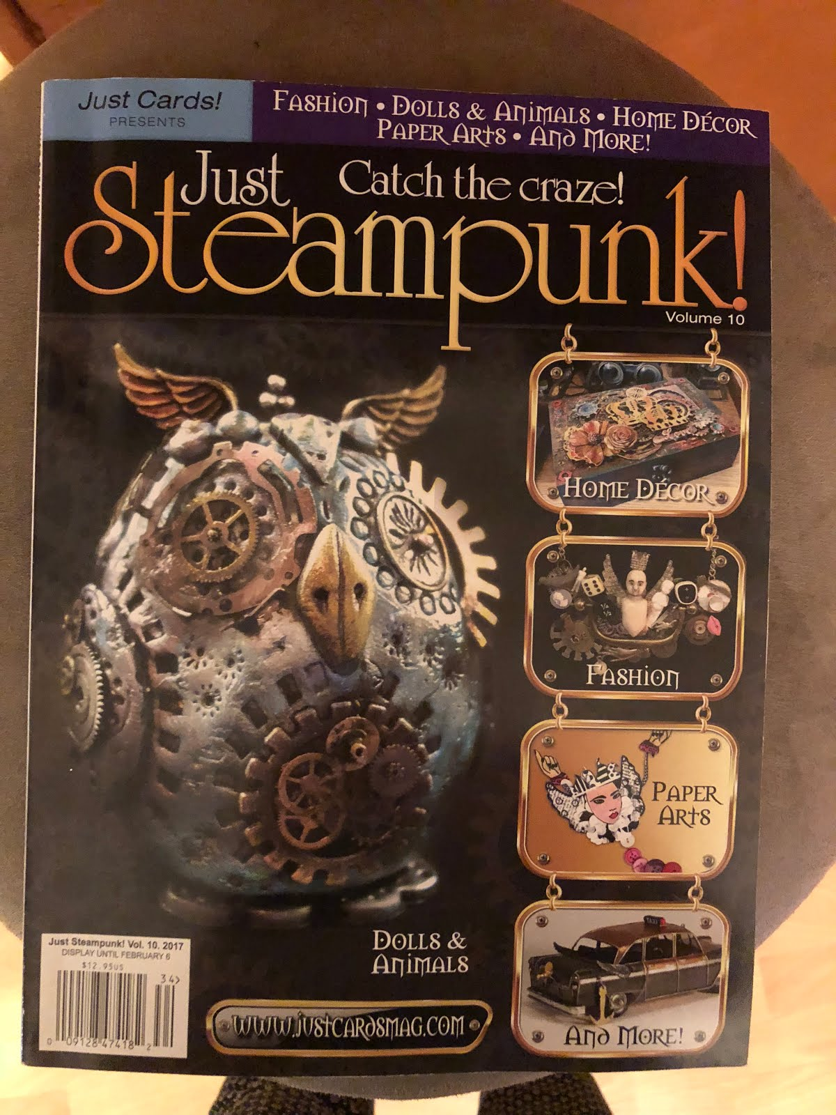 Just Steampunk Vol  10
