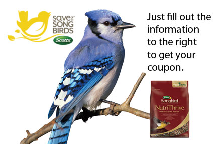 Scotts songbird coupons