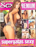 Confira as fotos das Super Gatas da Sexy, capa da Sexy Premium de novembro de 2003!
