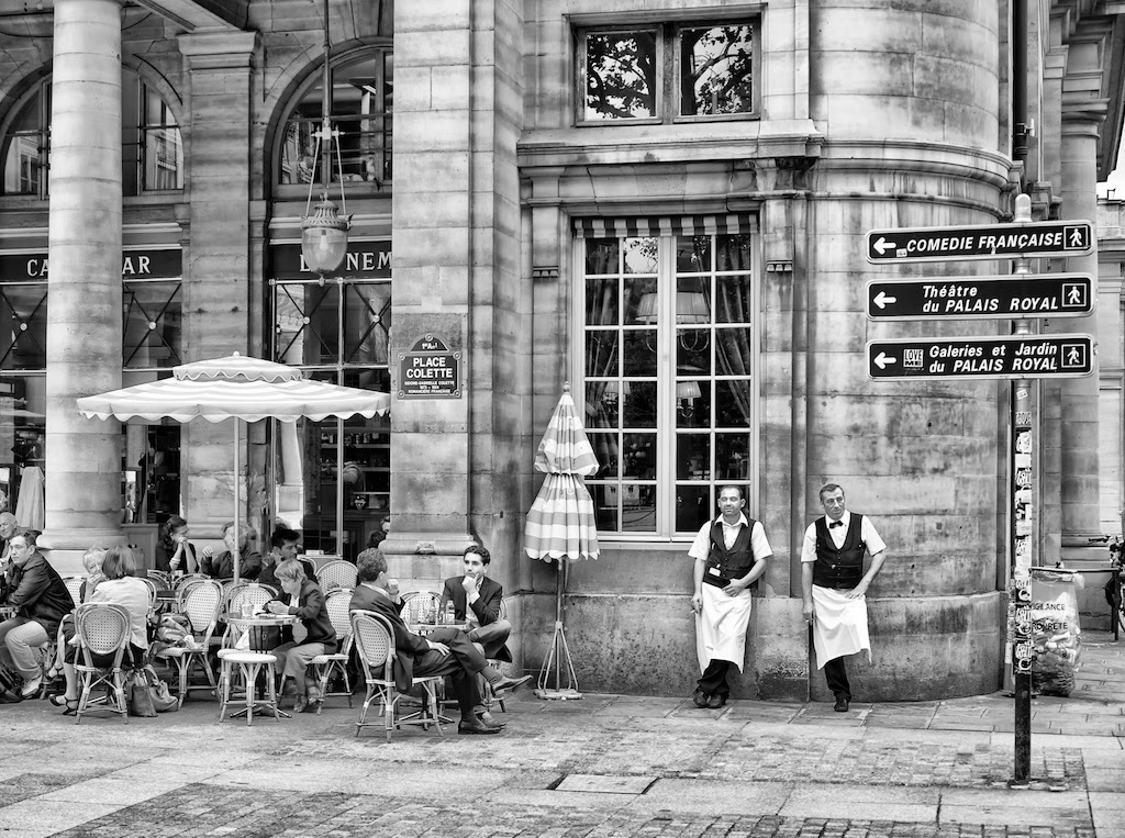 Paris waiters
