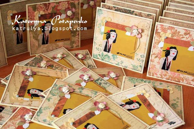 Оптовый заказ винтажных открыток открытки ручной работы