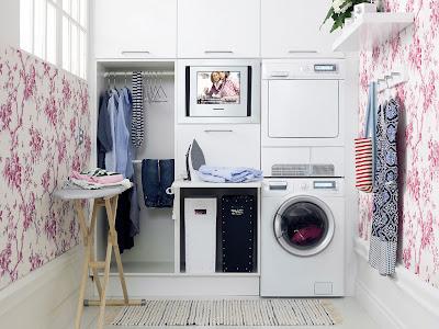 Elegant Laundry Room Design Ideas