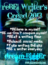 BE Writer's Creed 2013