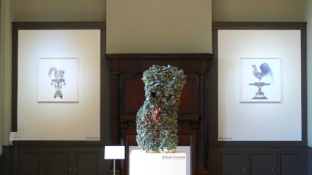 Hier, avait lieu à l'Institut Culturel Bernard Magrez, le vernissage ...