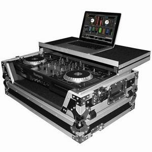 ProX Cases XS-MIXTRACK-LT Numark Mixtrack DJ MIDI Controller ATA Road Gig Ready Flight Case w/Gliding Laptop Shelf