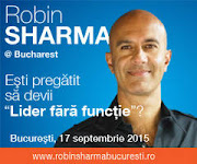 "Robin Sharma, revine la Bucuresti pentru a sustine seminarul ""Best performance tactics for success"""