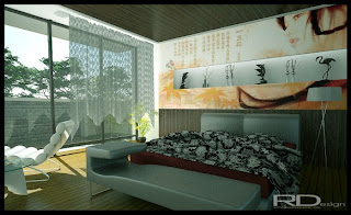 Bedroom Designs With Oriental Flavor