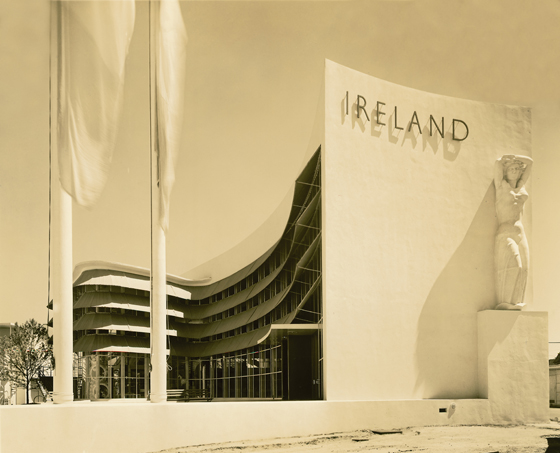 Ireland Pavilion at the New York World's Fair 1039, by Michael Scott