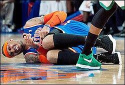 Carmelo Anthony do New York Knicks