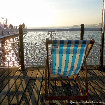 Brighton Beach Deck Chair, A Mum in London