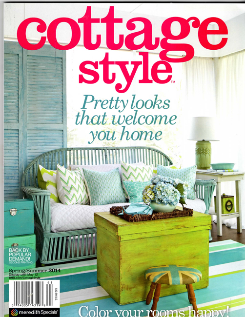 Cottage Style Magazine Spring 2014 And The Scoop On The