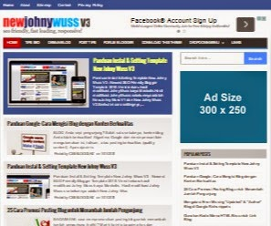 Panduan Instal & Setting Template New Johny Wuss V3