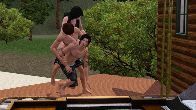 My Sims 3 Poses: Best Friends by Delight 33