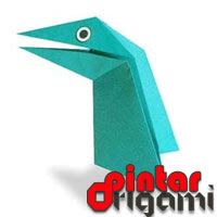 Talktive Dino Origami