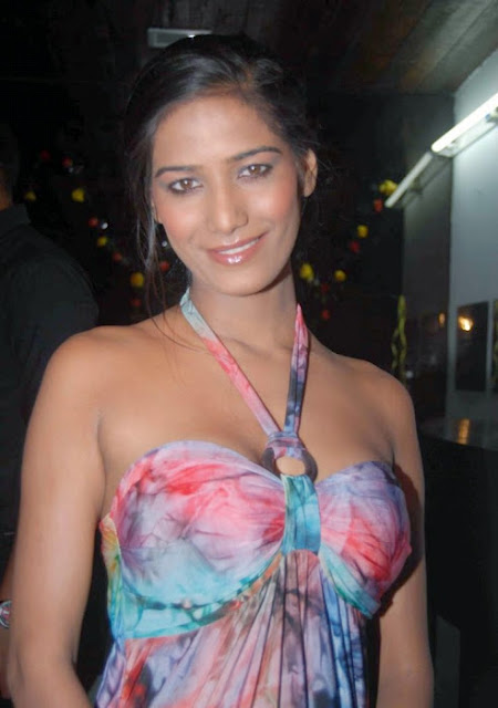 Poonam Pandey Hot actress in dress