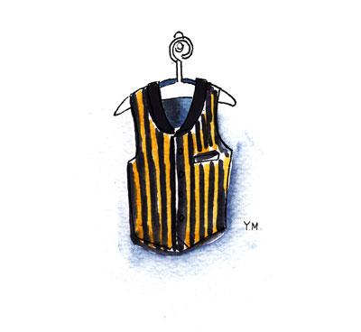 Jacket by Yukié Matsushita