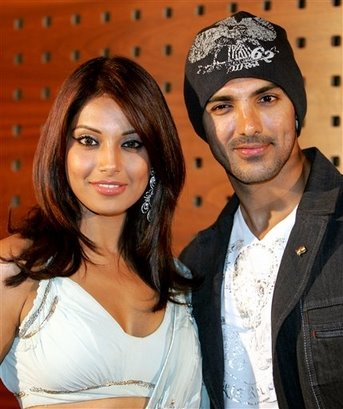 Bipasha and another boyfriend John Abraham