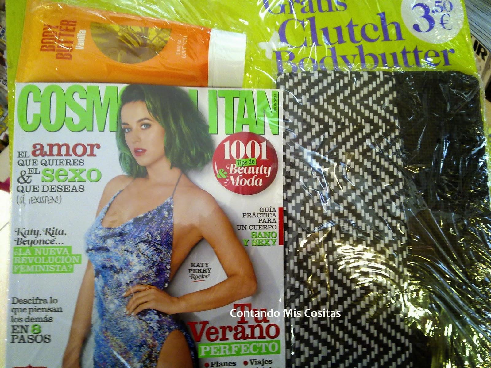 cosmopolitan julio 2014 manteca clutch