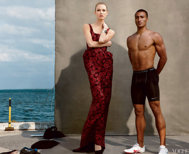 Ashton-Eaton-with-Kloss-wearing-Lanvin