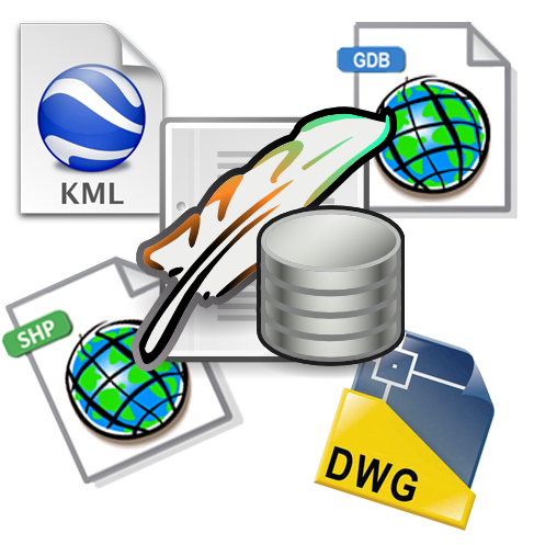 Kml shp gdb spatialite dwg qu formato gis es mejor for Convert kmz to dwg