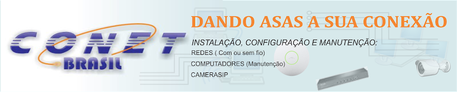 CONETBRASIL - DANDO ASAS A SUA CONEXÃO