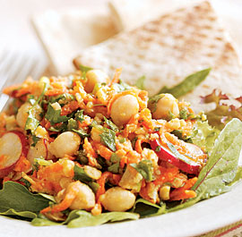 Chickpea, Carrot & Parsley Salad Recipe