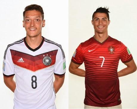 Piala Dunia 2014: Jerman vs Portugal