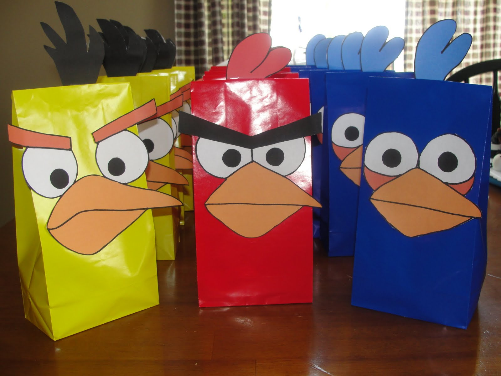 Angry Bird party favors from Irish Maiden91