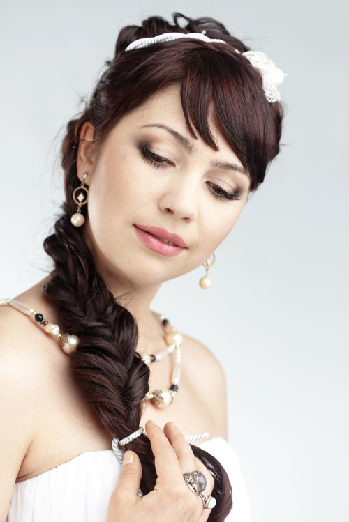 Romantic Side Ponytails for Long Hair