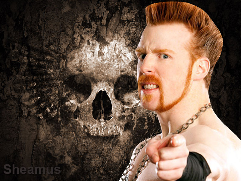 WWE Sheamus Latest Wallpapers 2012