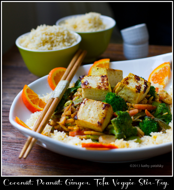 Tofu Peanut Stir-Fry Recipe — Dishmaps