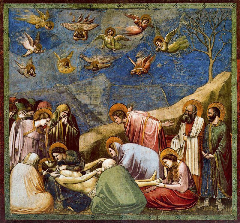 lamentation over the dead christ and lamentation by giotto View: giovanni battista naldini, lamentation of the dead christ read about this painting, learn the key facts and zoom in to discover more.