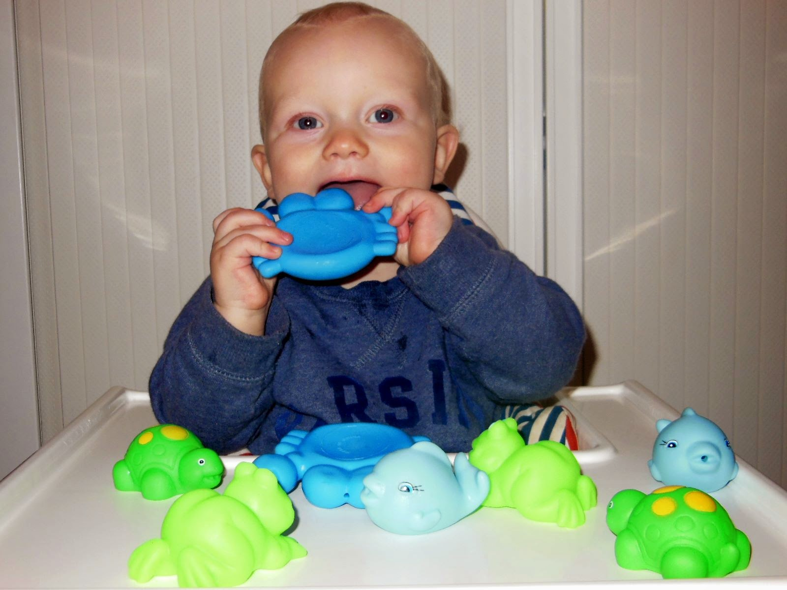 TOY TESTER REVIEW: PLAYGRO BATHTIME SQUIRTEES | The Beauty ...