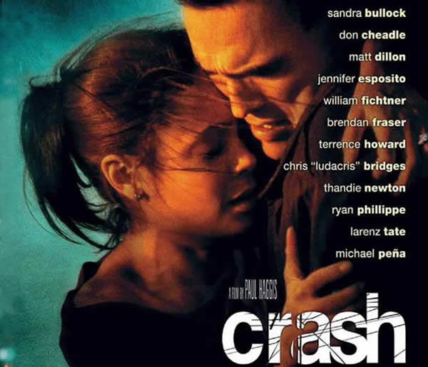 crash and racism Racism, prejudice and stereotyping, as the major themes of the movie, crash, dominate all the sub-stories that are somehow connected to each other moreover, as the stories go on and events develop, it becomes possible to see how characters start to have changes in their perspective and attitude towards each other, either in a good or a bad way.