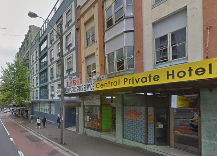 Central Private Hotel Hostels In Sydney
