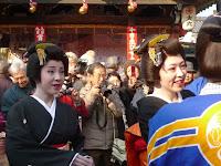 東映太秦映画村からの二人は和やかになった