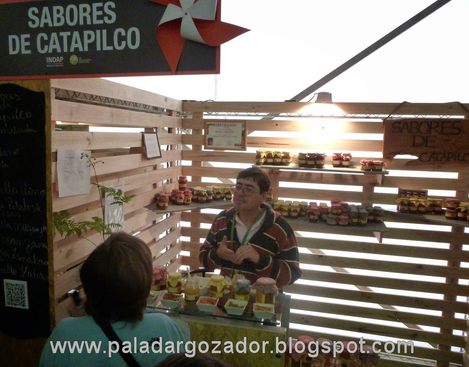 Stand expo rural Sabores Catapilco