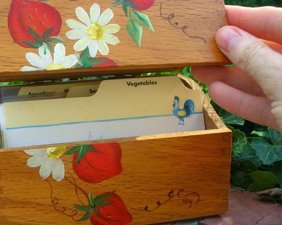 A Veggie Venture's Recipe Box, more than 1200 vegetable recipes, all organized to quickly find just the right recipe.