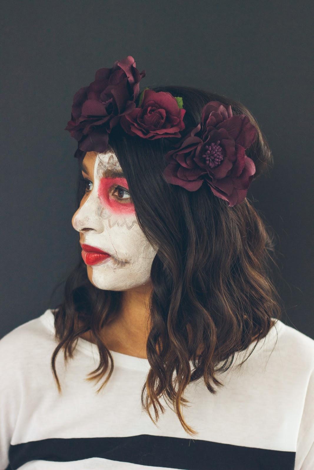 Dia de Los Muertos Halloween Costume - via @Wandeleur