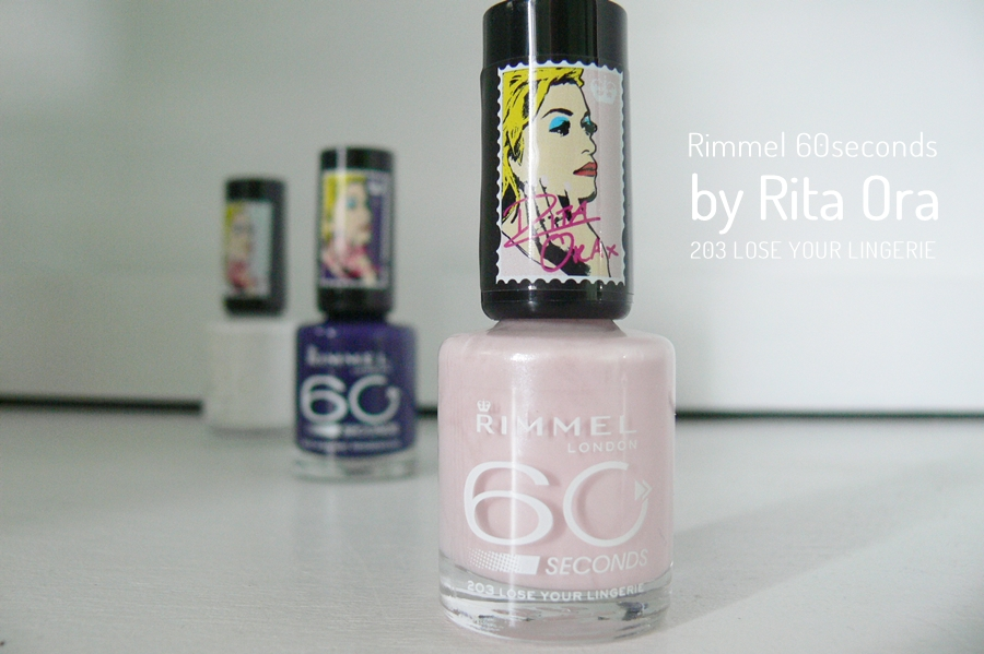 Rimmel 60seconds by Rita Ora Lose Your Lingerie