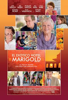 El Exótico Hotel Marigold Poster