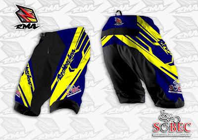 Jual Jersey Baju Pakaian Celana Sepeda, Motocross, Trail...dll - RMA Ride More Asia Jersey Sample2