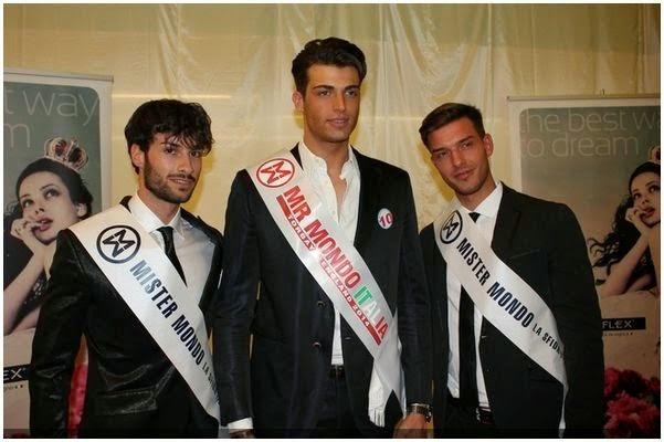 Adamo Pasqualon is Mister Mondo Italia 2014