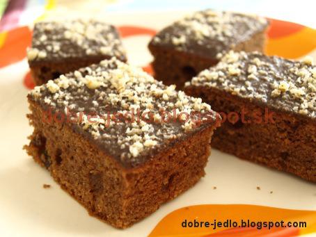 Perníkový koláč - recepty