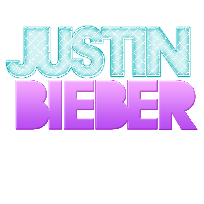 justin bieber name png wwwimgkidcom the image kid